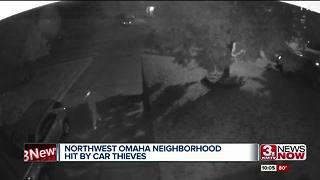 Thieves hit another Northwest Omaha neighborhood - Video