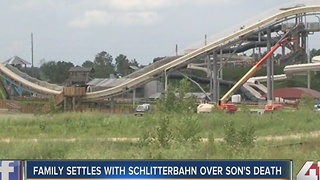 Family settles with Schlitterbahn over son's death - Video