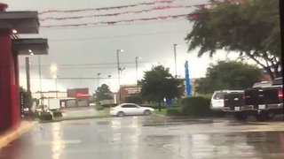 Possible Tornado Touches Down in Cypress, Texas - Video