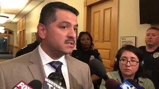 MPD Chief Alfonso Morales: 'Give us a chance' - Video