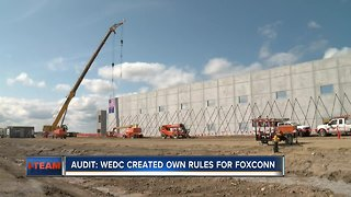 Audit: Wisconsin state funds could leave state for Foxconn