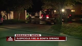 Golf carts catch fire in Bonita Springs - Video