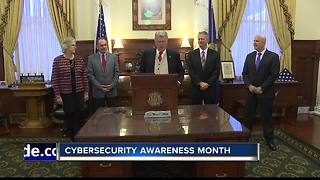 State leaders reaffirm commitment to cybersecurity - Video