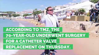 Arnold Schwarzenegger Undergoes Emergency Open-Heart Surgery - Video