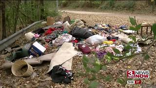 Man frustrated with city about dumping - Video