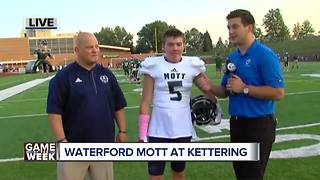 Emotional Game of the Week for Waterford Mott - Video
