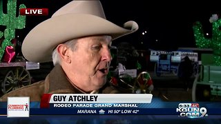 Tucson Rodeo Parade Grand Marshal Guy Atchley interview