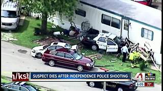 Man dies after being shot by Independence police - Video