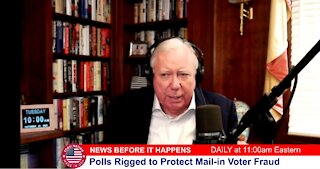 Dr Corsi NEWS 10-27-20: Polls Rigged to Protect Mail-in Voter Fraud