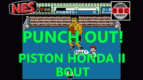 Punch Out - Piston Honda Fight #2