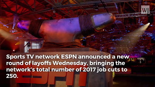 Things Just Got a Lot Worse for ESPN: New Round of Layoffs Announced, and It's Massive - Video