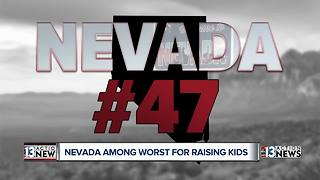 Study finds Nevada among worst states for overall well-being of a c - Video
