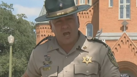 """Sheriff To Burglar — """"Turn Yourself In Or The Bell Tolls For Thee, Your Horsemen Awaits"""""""