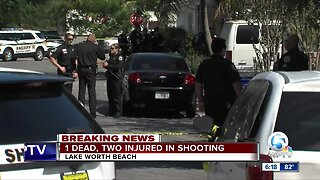 1 killed, 2 injured in Lake Worth Beach shooting Sunday afternoon