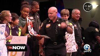 Berean Christian School thanks PBSO deputies - Video