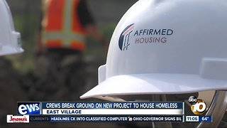 New affordable housing building to house homeless
