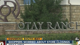 Shoppers worried about store closings - Video