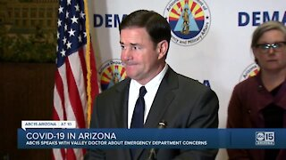 Ducey out of state for 'couple days away' as COVID cases increase