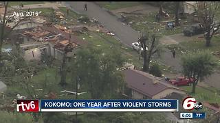 Kokomo: One year after violent tornadoes - Video