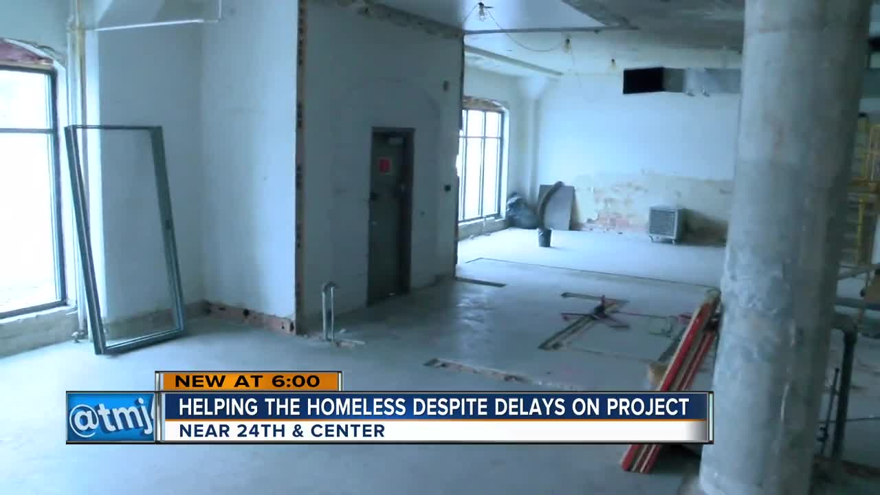 Local homeless shelter project continues after delays