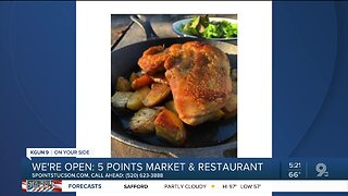 5 Points Market & Restaurant offers takeout