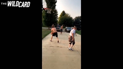 Watch: Old-Timer Humiliates Young Gun With the Oldest Trick in the Book