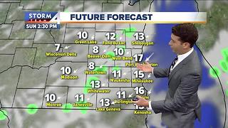 Meteorologist Josh Wurster's Sunday Morning Forecast - Video