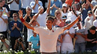 Roger Federer reaches new milestones at French Open