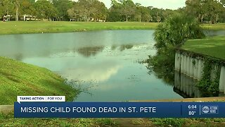 St. Petersburg police investigate drowning of missing 3-year-old boy