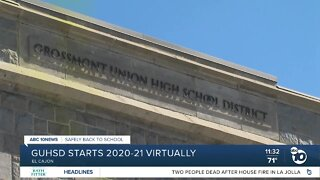 Grossmont Union HS District begins school year virtually