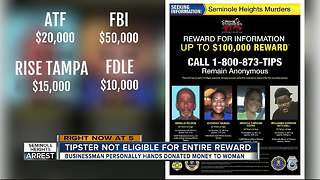 Will anyone get the Seminole Heights reward? - Video