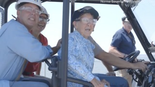 91 Year Old With Cancer Goes On Trip Across America - Video