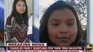 Police looking for missing Chandler teen - Video