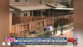 BPD investigating possible homicide in Southwest Bakersfield