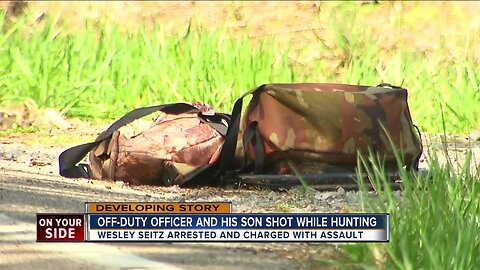 Off-duty CPD officer and son shot while hunting