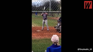 Watch: 1-Armed Kid Goes Viral With Incredible Feat On Baseball Field - Video