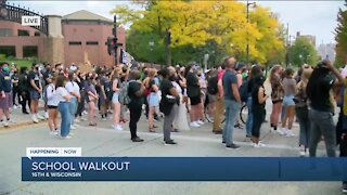 Marquette students host walkout after Breonna Taylor decision