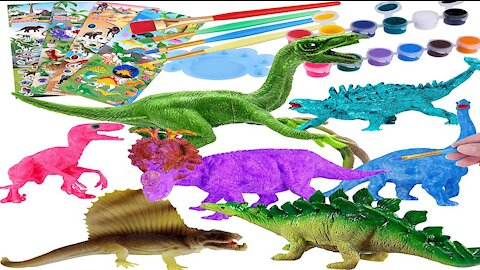 Dinosaur Kids Painting Kit