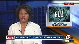All Marion County hospitals impose visitor restrictions because of flu - Video