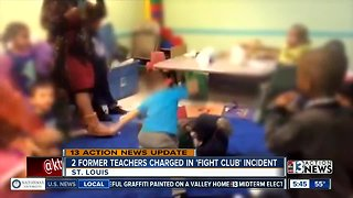 2 former teachers charged for daycare fights