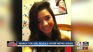 Search for missing teen reveals other issues in metro - Video