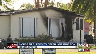 Early morning house fire leads to death investigation - Video