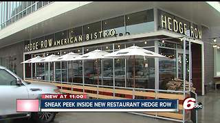 Kimbal Musk gives sneak peek at new restaurant on Mass Ave - Video
