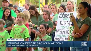 Education debate grows in Arizona