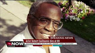 Actor Robert Guillaume dies at 89 - Video