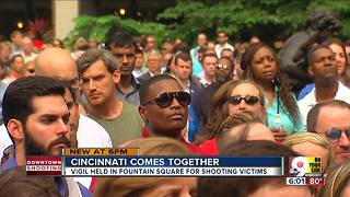 Cranley honors victims, first responders at Fountain Square vigil