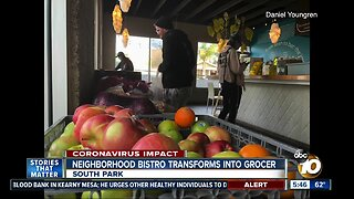 South Park bistro transforms into neighborhood grocer to combat Coronavirus restrictions