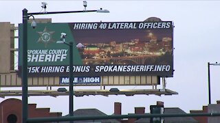 Spokane County Sheriff makes statement with recruiting billboards in Denver