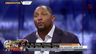 Ray Lewis Doesn't Agree With Fining Players For Big Hits - Video