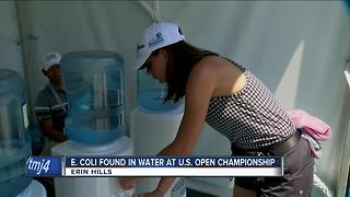 E. coli found in water at U.S. Open - Video